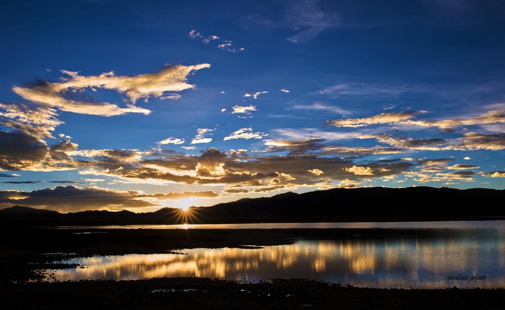 广州三宝作品:高原湖泊