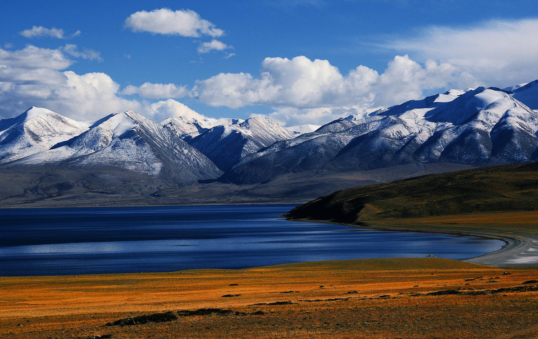 伊周作品:西藏●玛旁雍错湖