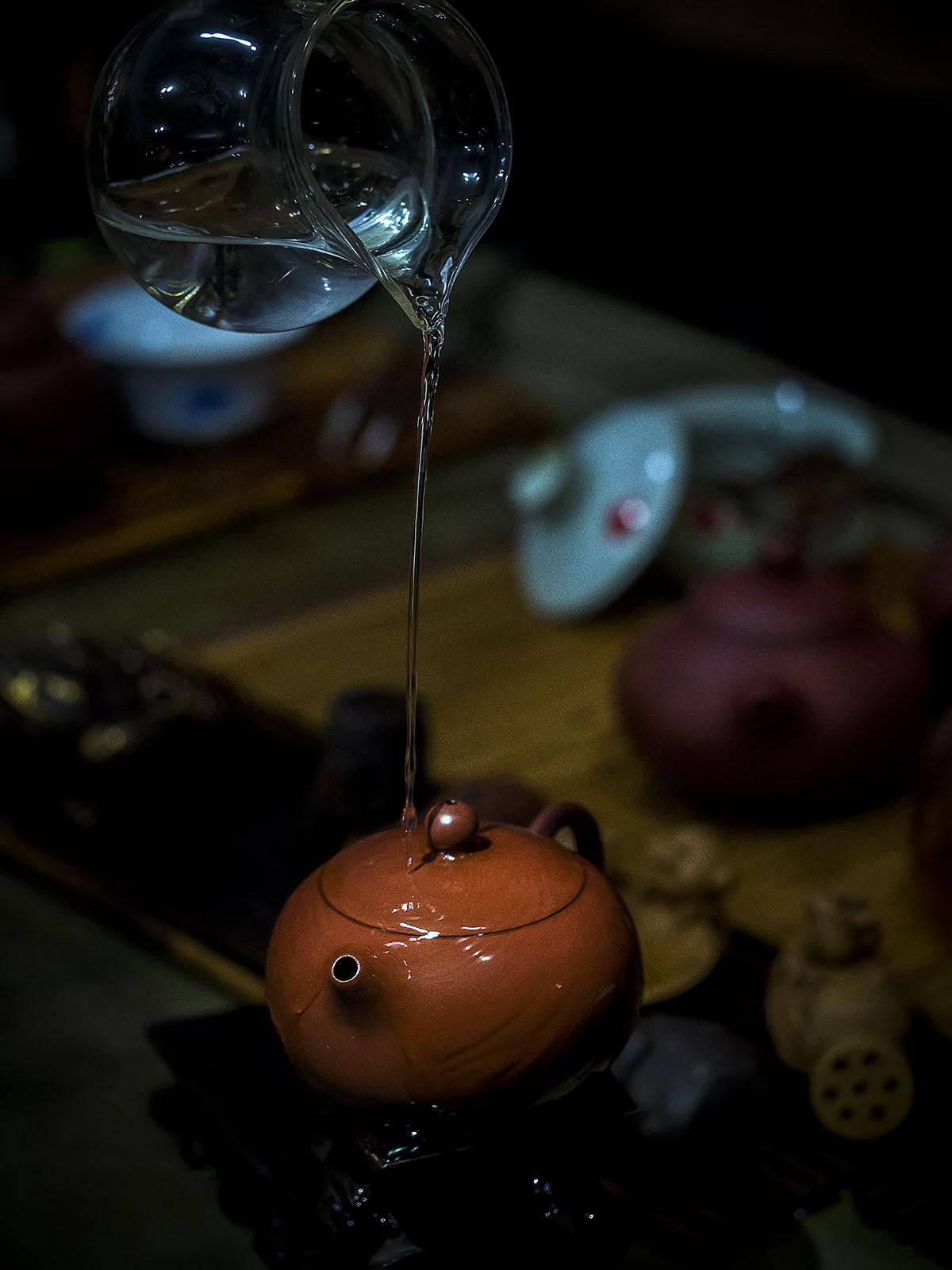 讨江湖作品:茶韵