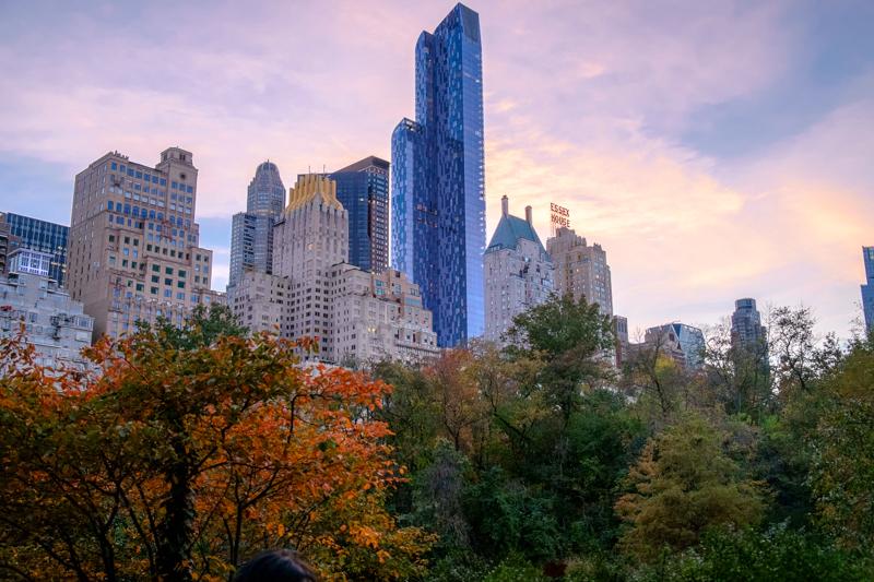 hunterpoint作品:中央公园的黄昏