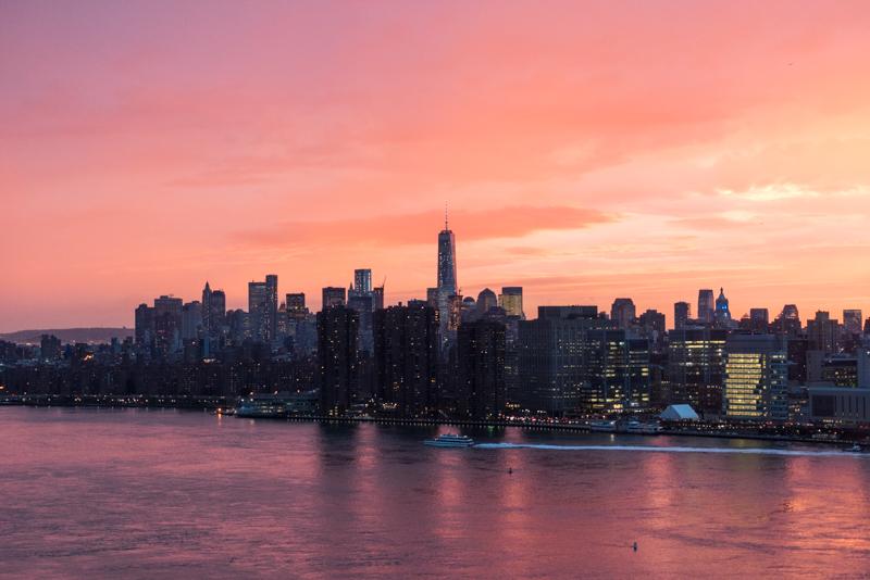 hunterpoint作品:曼哈顿天际线