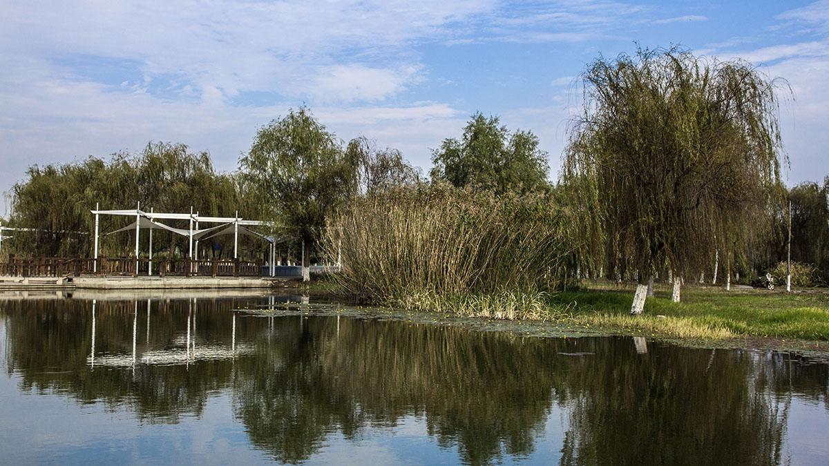 安宁视角作品:固城湖