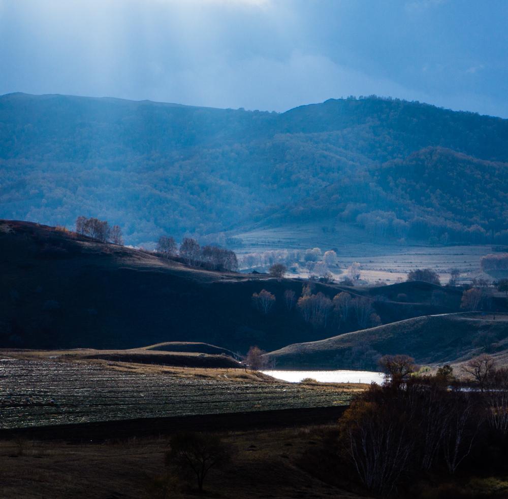 icenter作品:乌兰布统之山光水色
