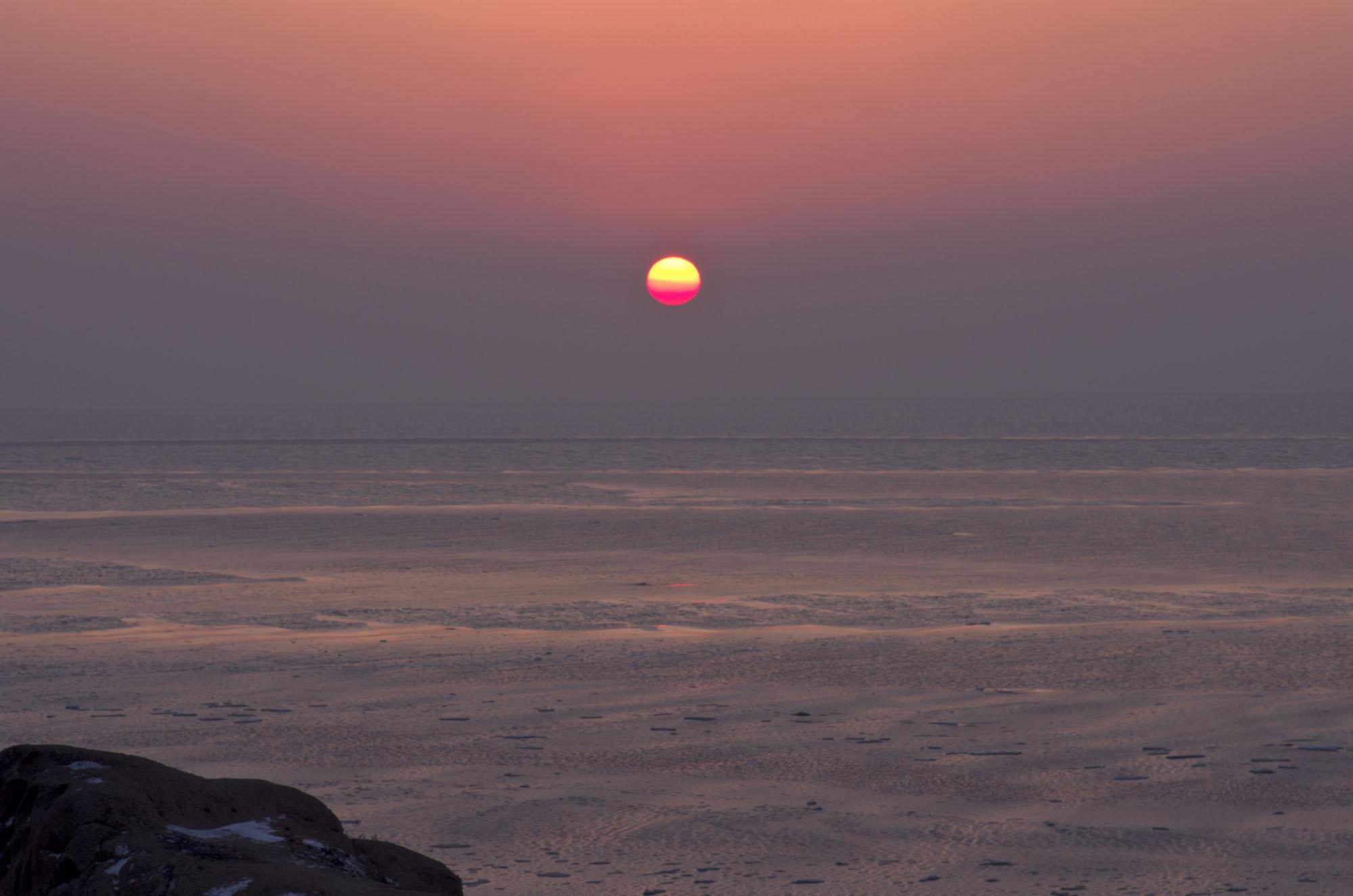 红枫99011作品:日落