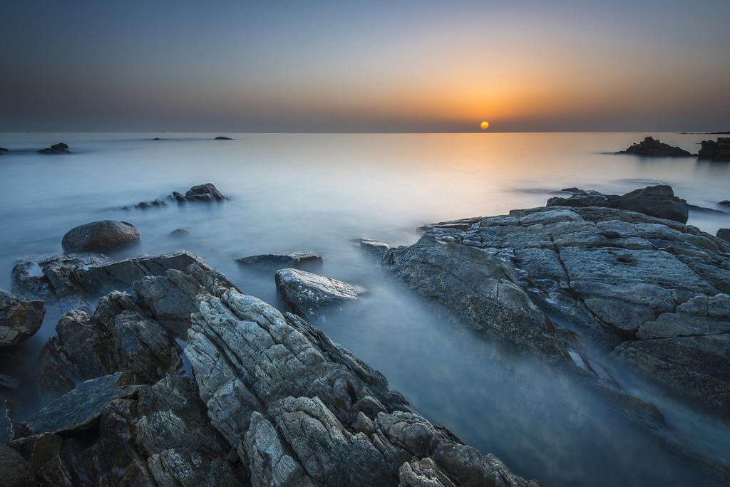 coolkeke作品:黄岛之晨