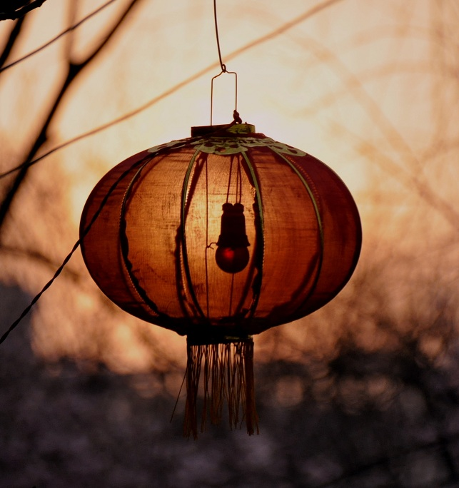 蓝桥摄影作品:新年曙光
