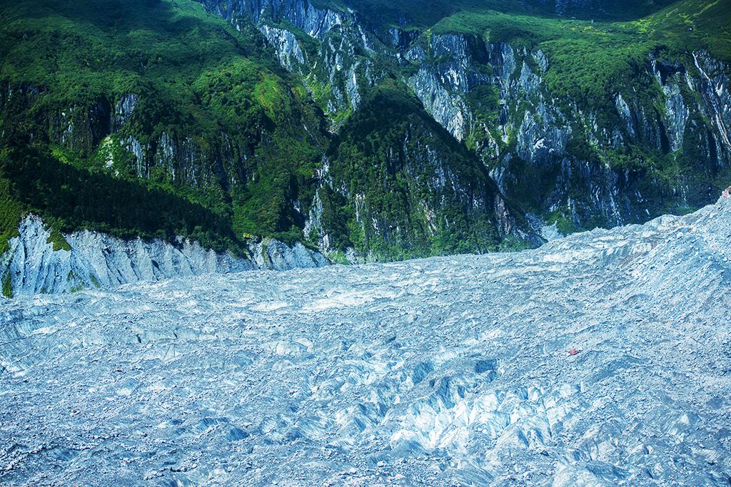 林泉一叟作品:海螺沟冰川