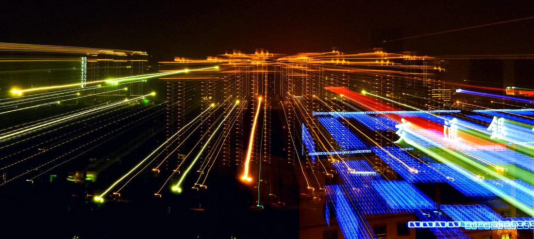 零距离-零起步作品:城市之光