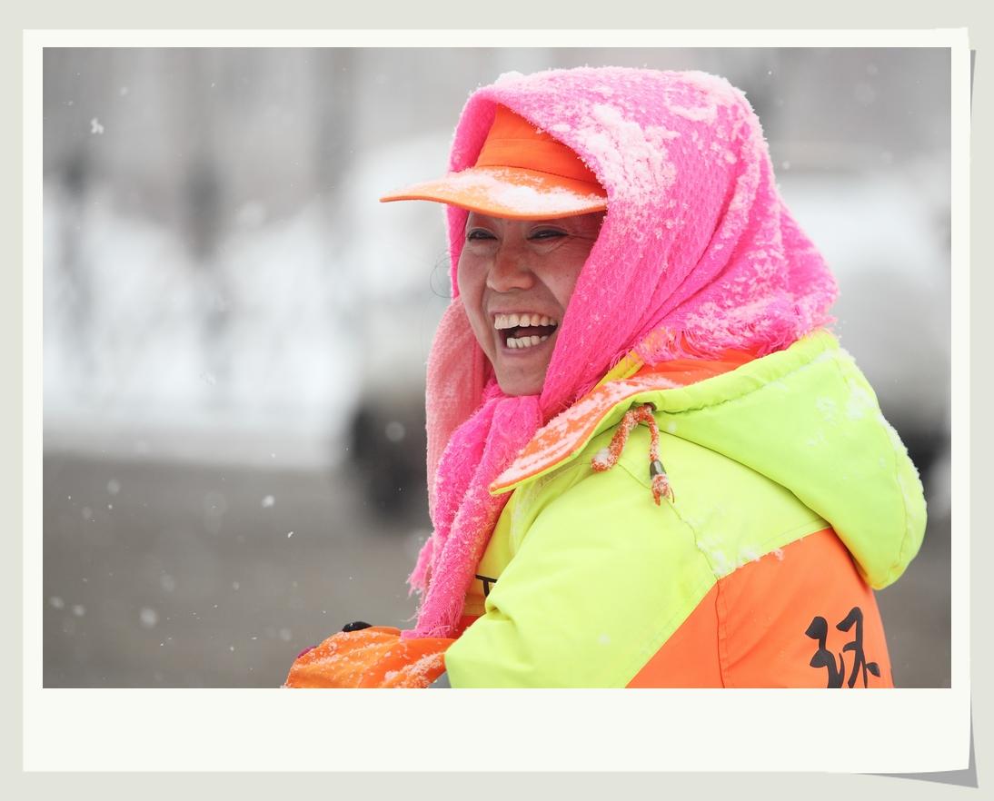 伊周作品:风雪中的美丽
