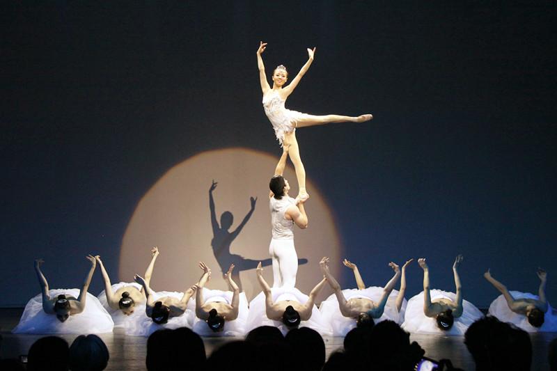 冯一平作品:肩上芭蕾