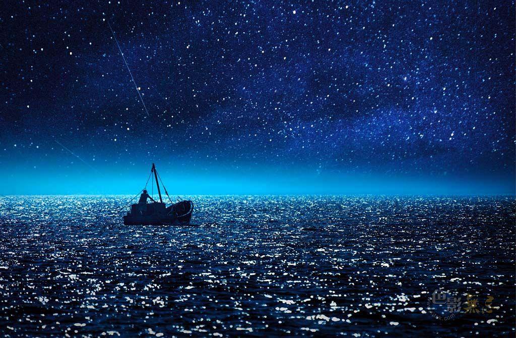 夜雾深沉作品:梦中的星海