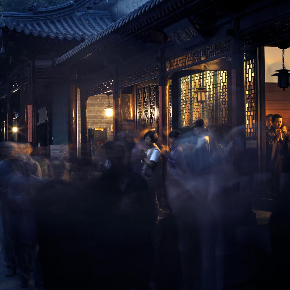huhan323作品:佛事