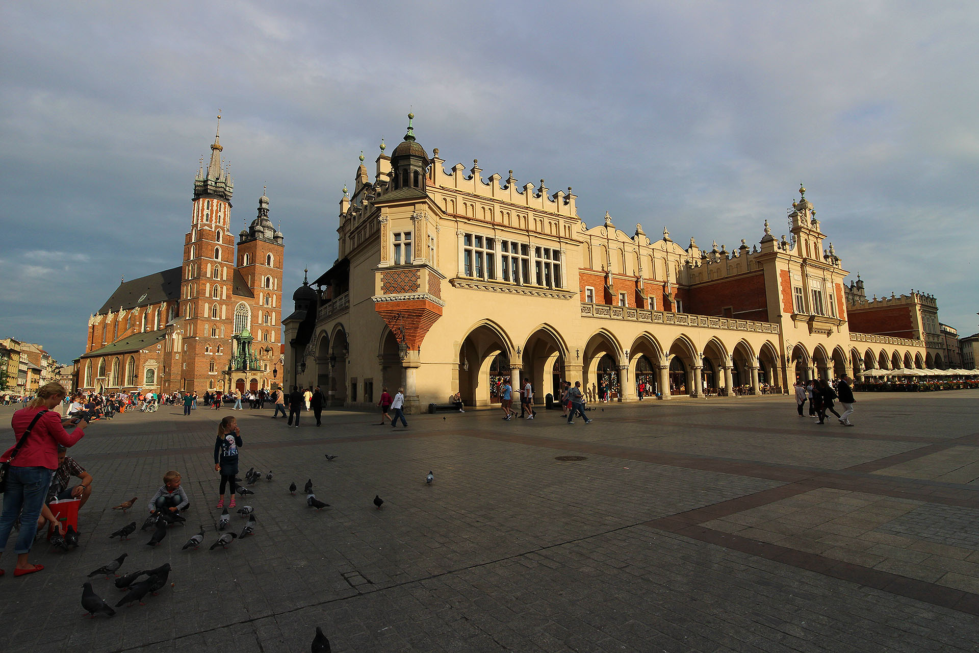 lantian作品:中世纪的广场