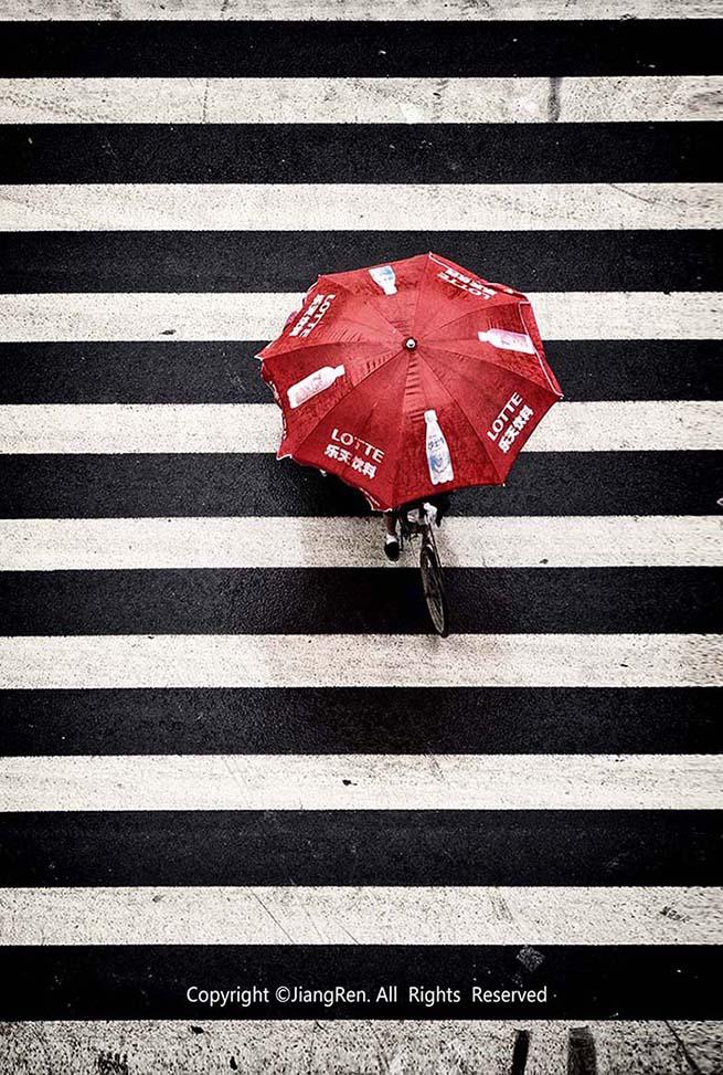 匠人旺旺作品:雨中小景