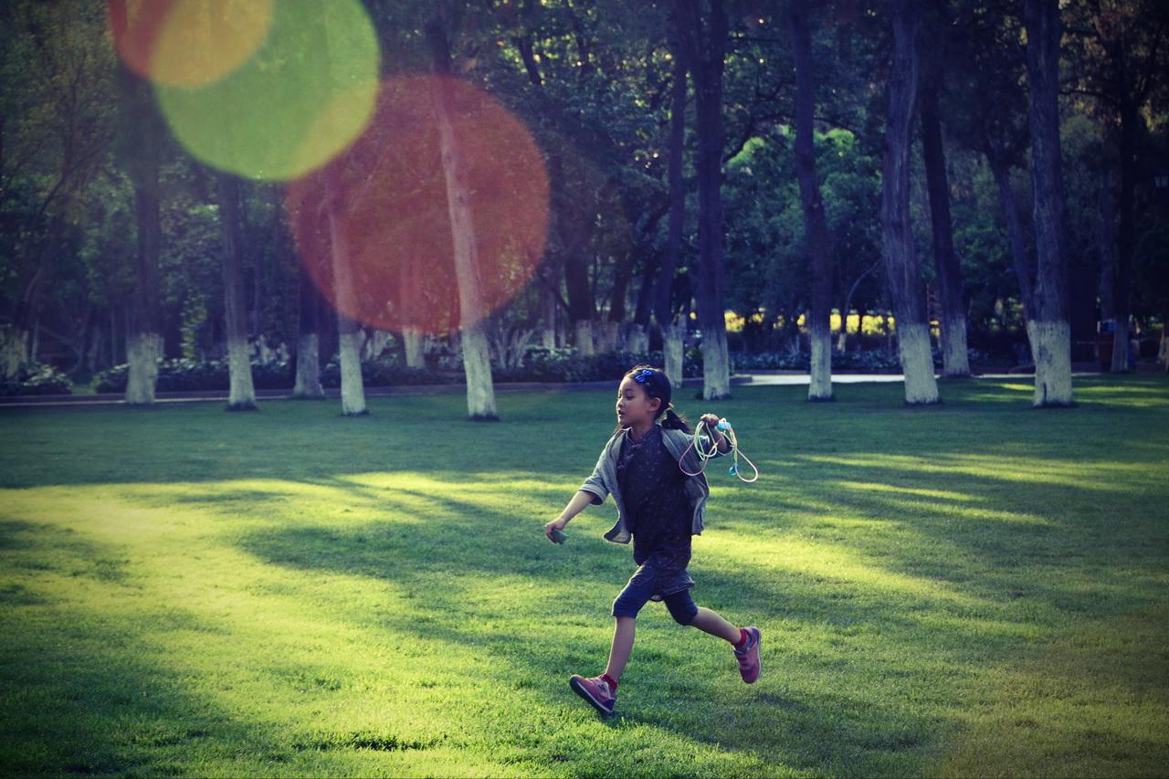 johnwq作品:把欢乐洒满草地