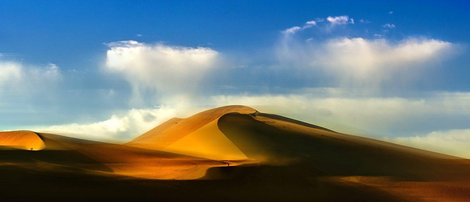 山海原野作品:沙漠光影