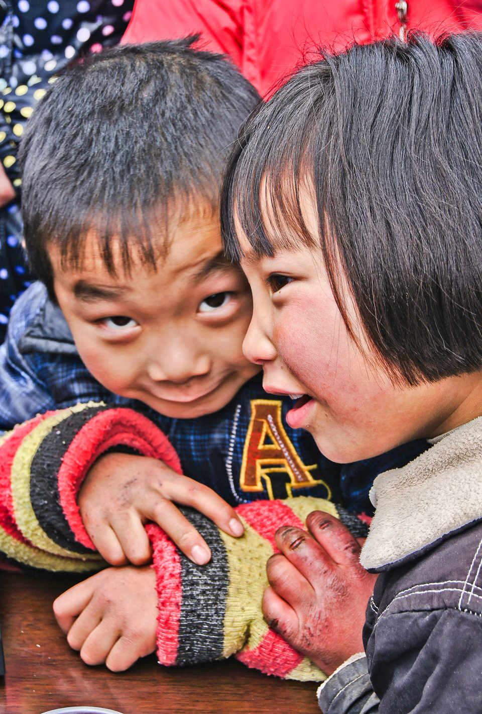 摄友王作品:大山里的孩子