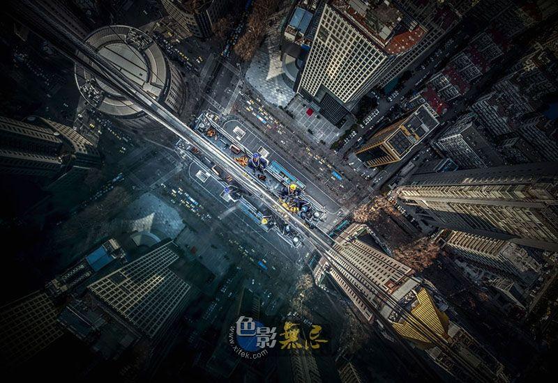夜雾深沉作品:都市建证
