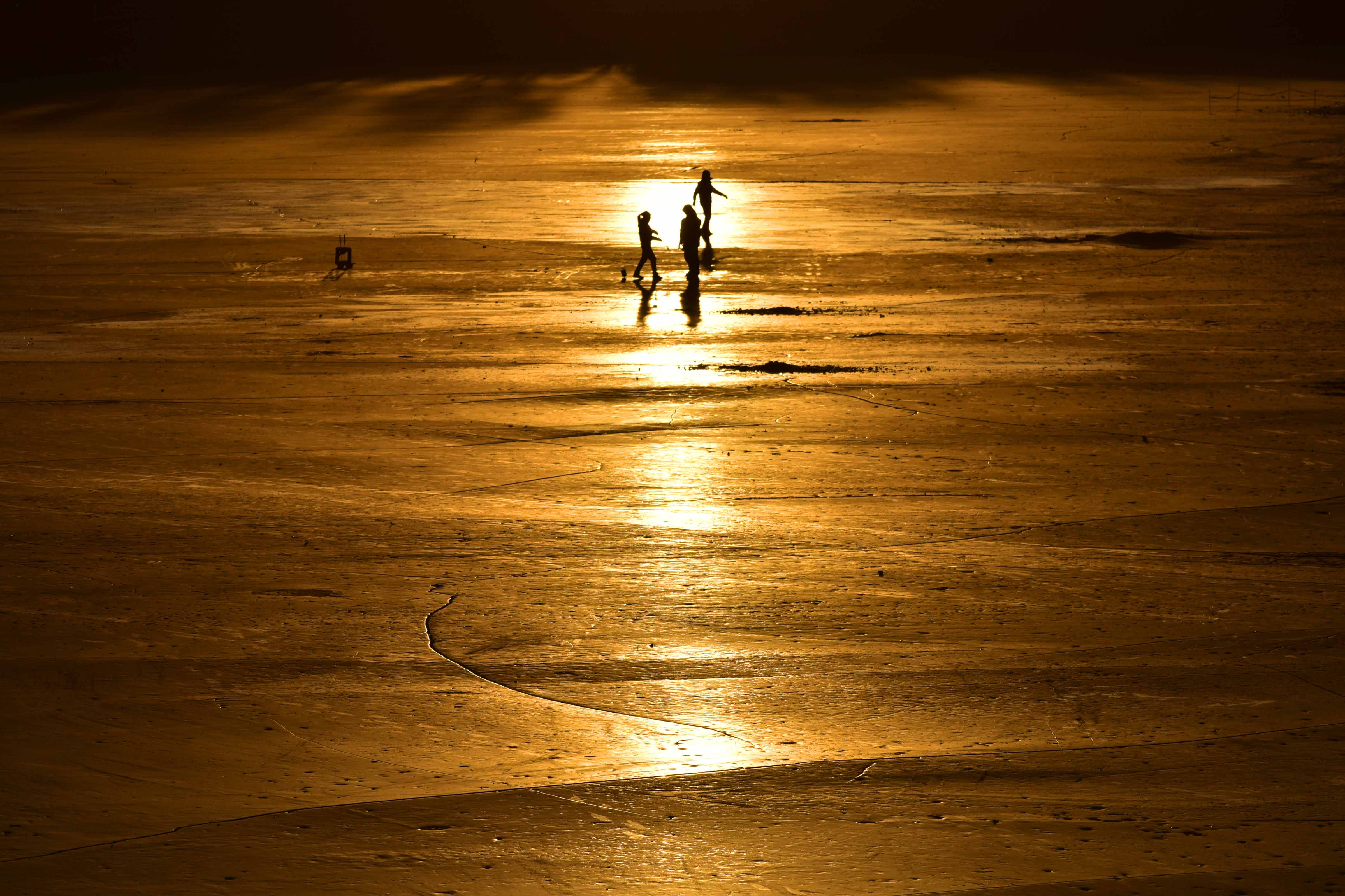 宝来摄影作品:冬日暖阳