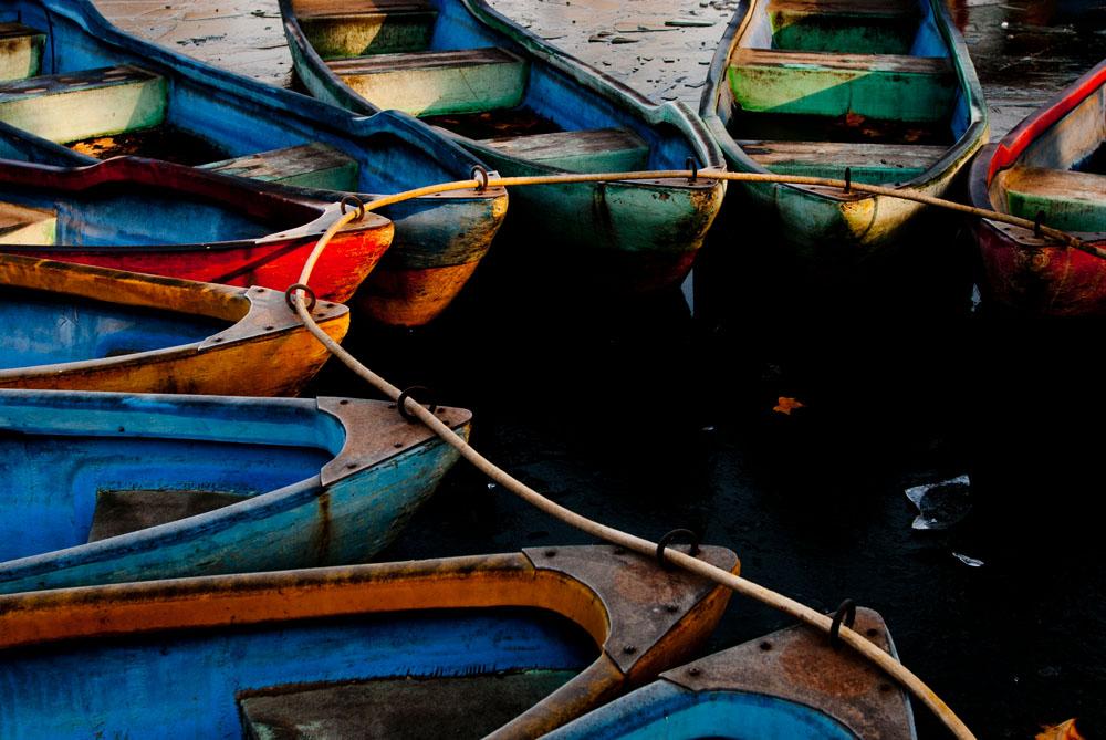 sunww作品:冰湖之船
