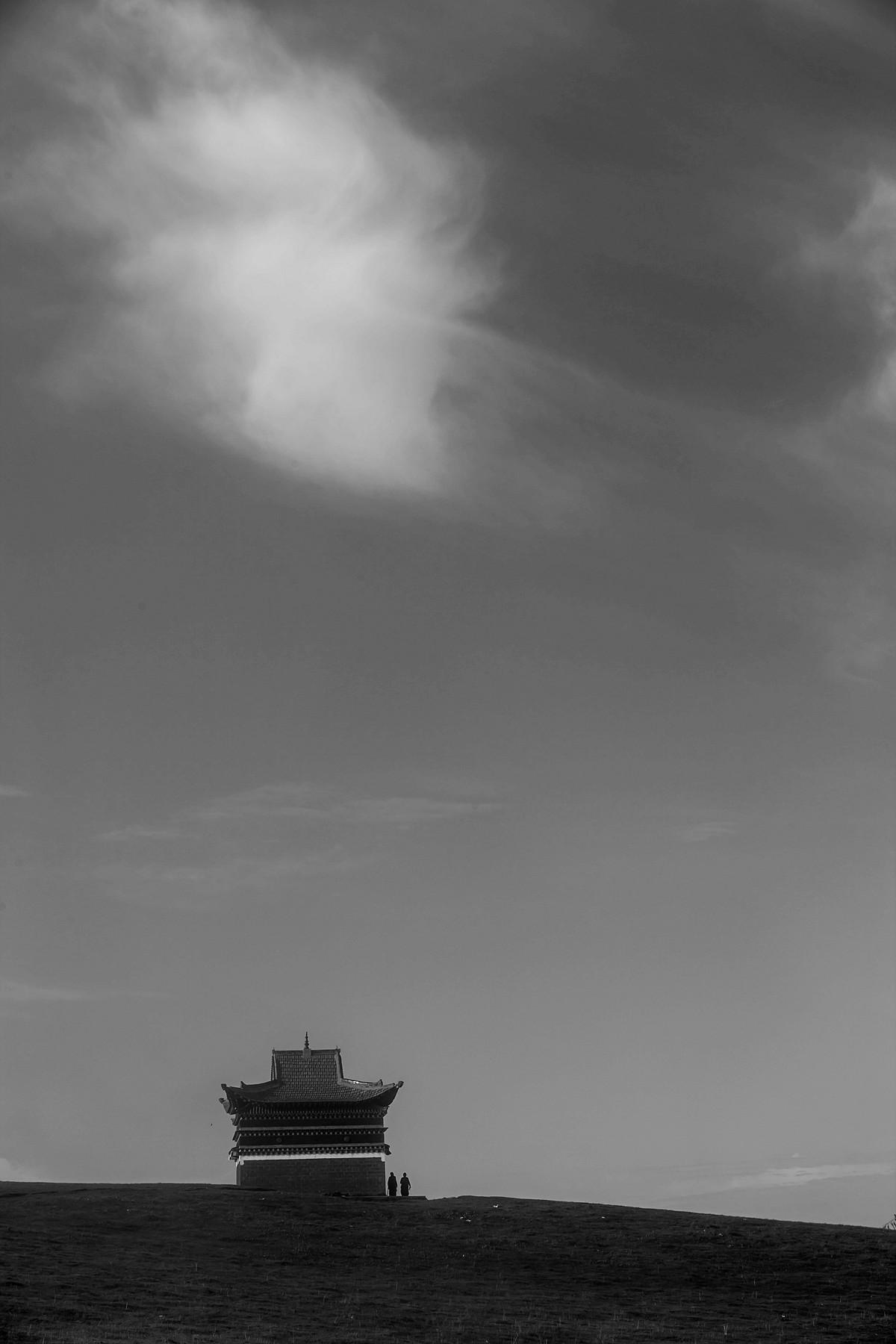 二筒作品:九曲黄河第一湾拍的