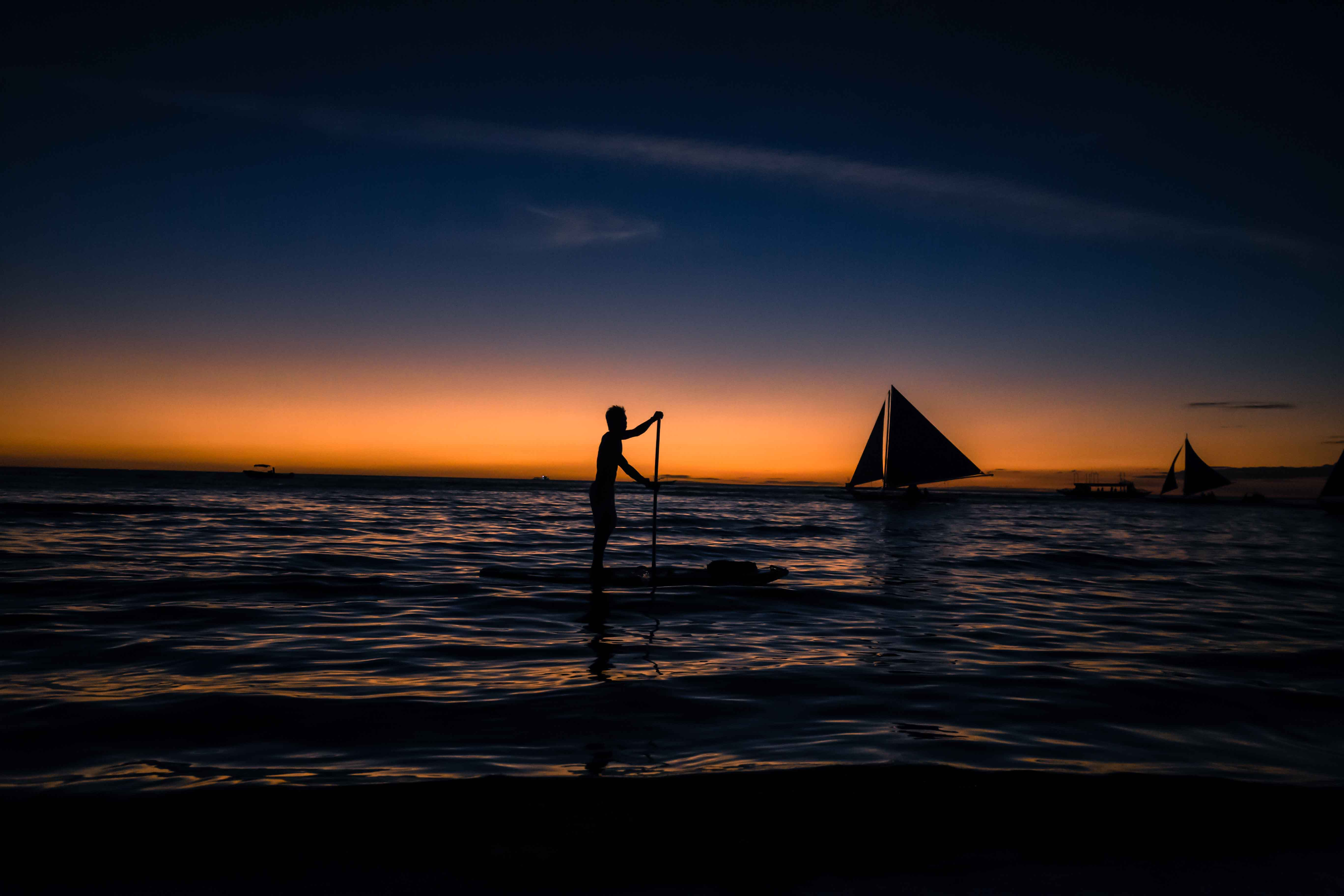 框拉框作品:风帆与木浆
