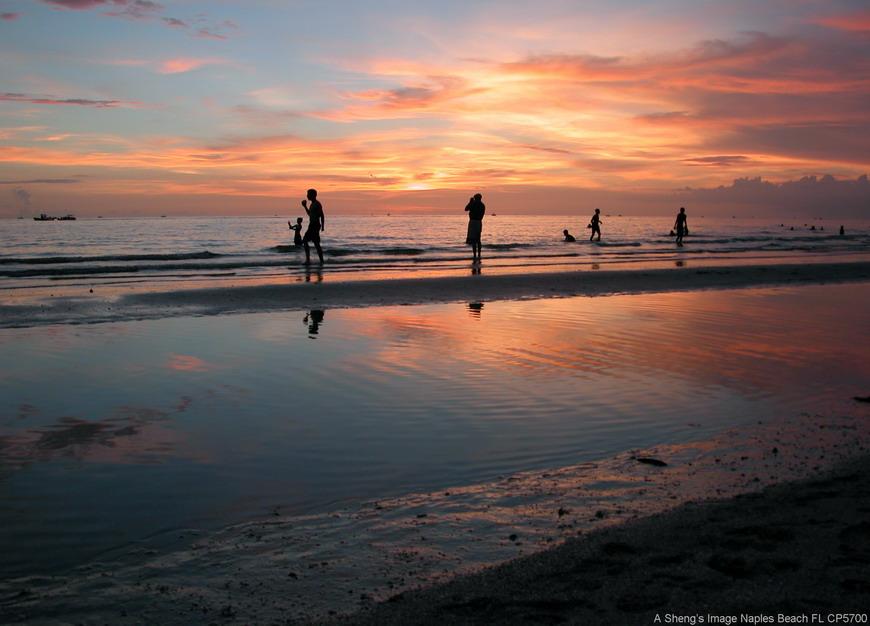 hyacinthu作品:那不乐斯海滩,美国