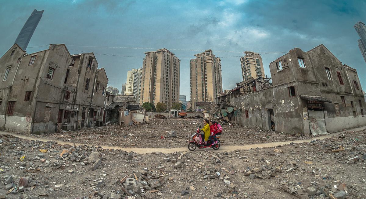 williamweilee作品:旧城改造