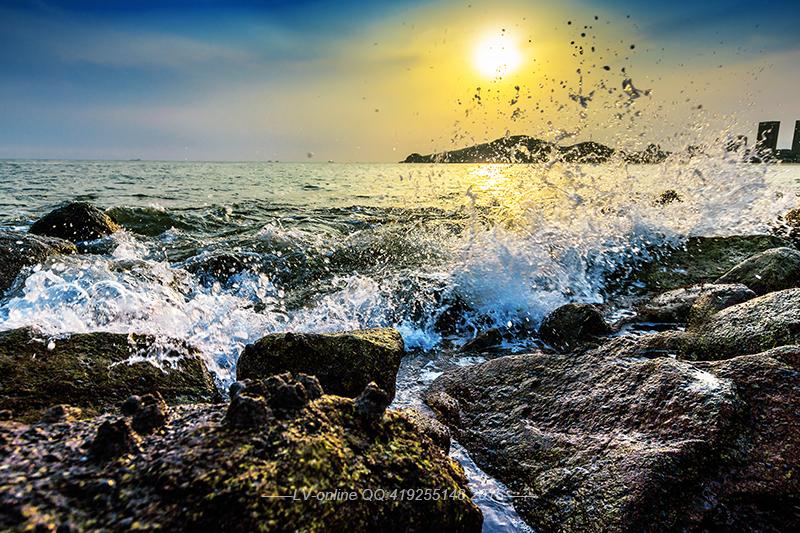 LV-Online作品:海滩风光