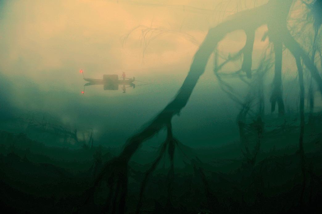 关弓作品:烟雨三月下江南