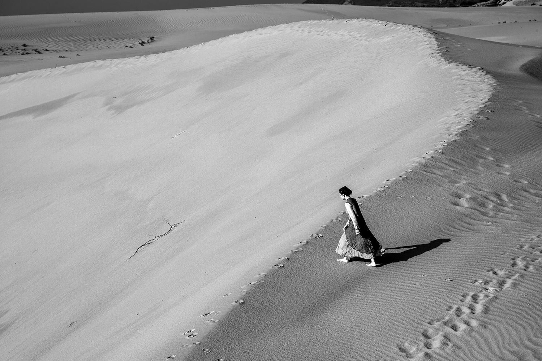 章见作品:步入沙海