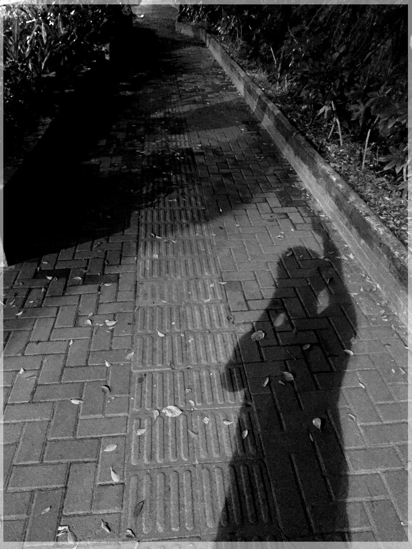 walkman20作品:与影子的对话