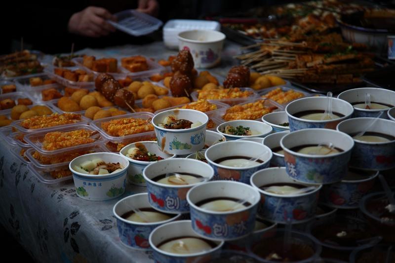 冲击波AH作品:宽窄巷子的美食