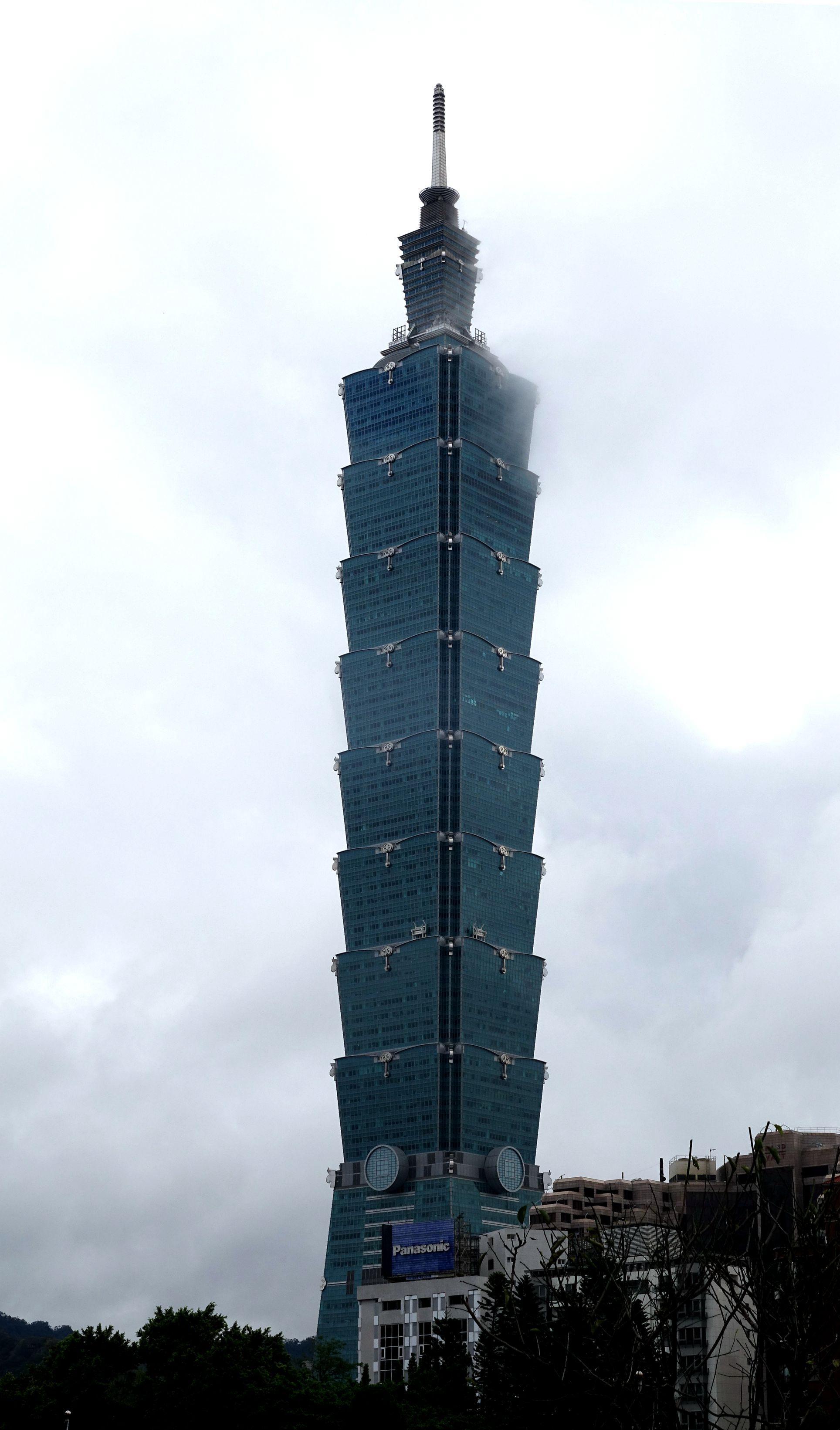 常樂作品:台湾101大楼