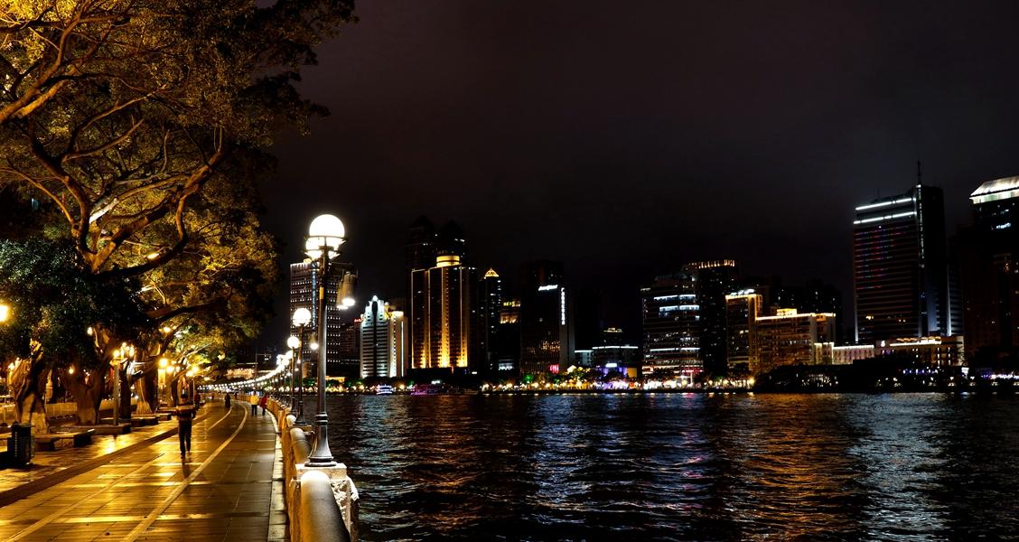 冲击波AH作品:珠江夜景2