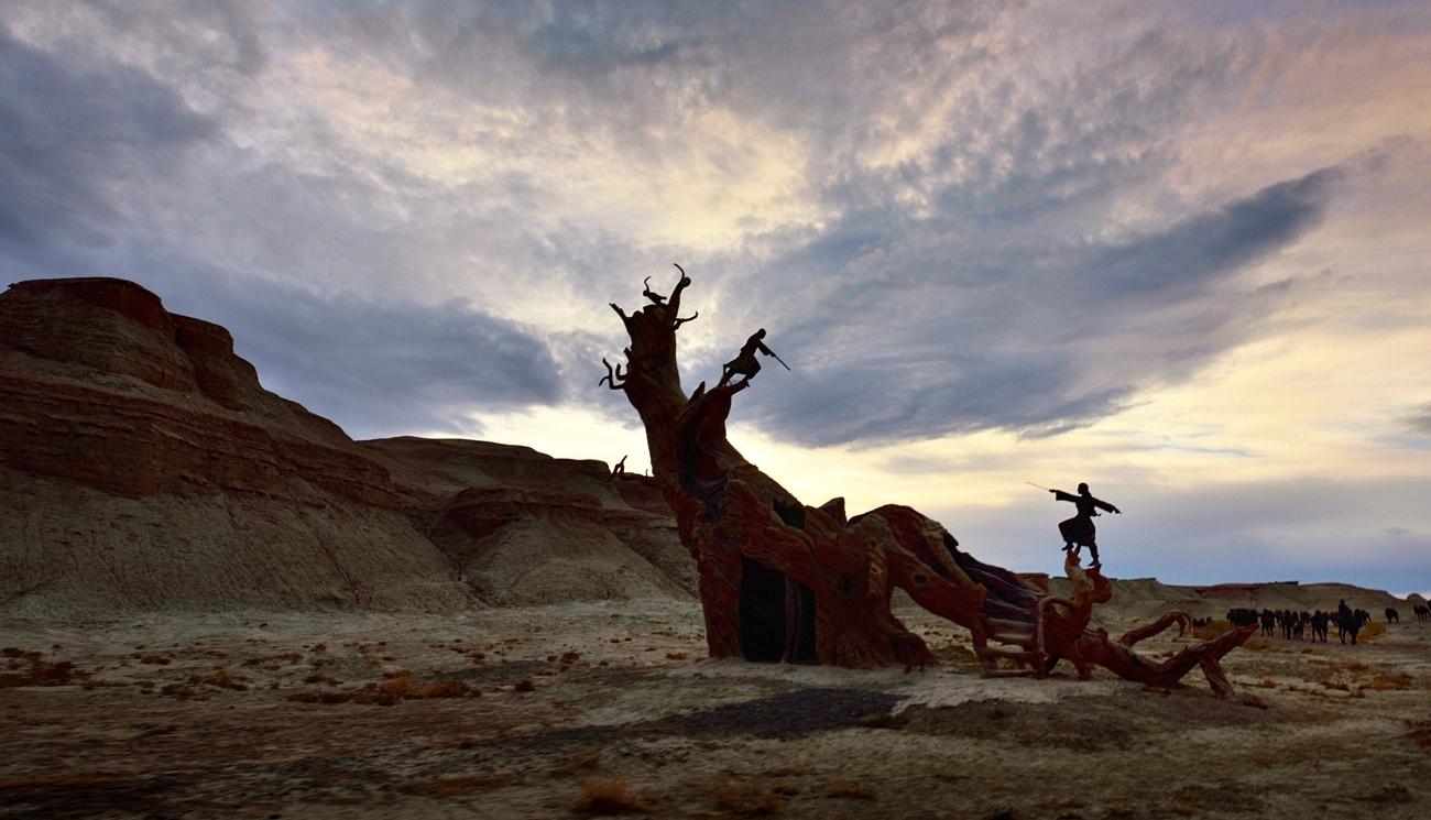 xiaojichuan作品:枯木论剑