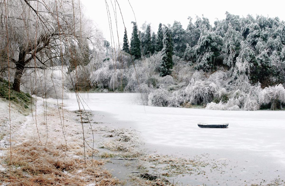xiaojichuan作品:冰雪孤舟