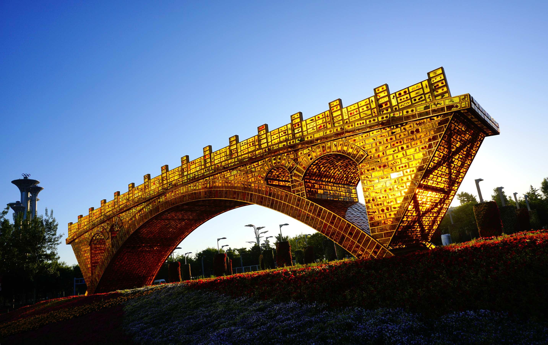 常樂作品:絲路金桥