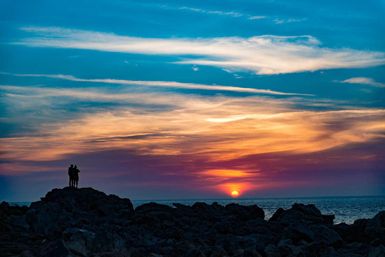 海军山作品:夕阳之歌