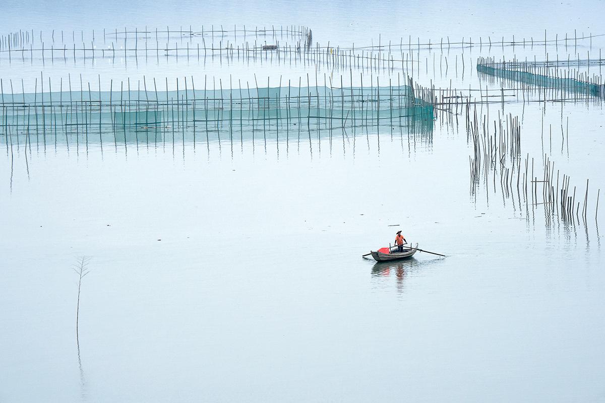 liwong作品:泛舟