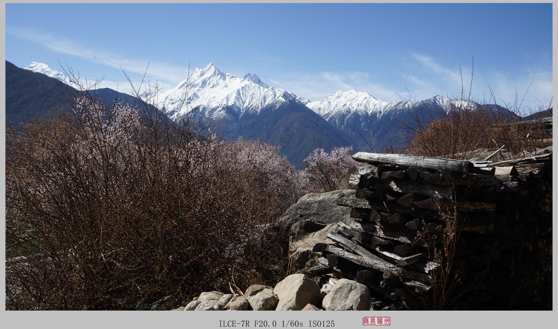 无处归州作品:加拉白垒峰