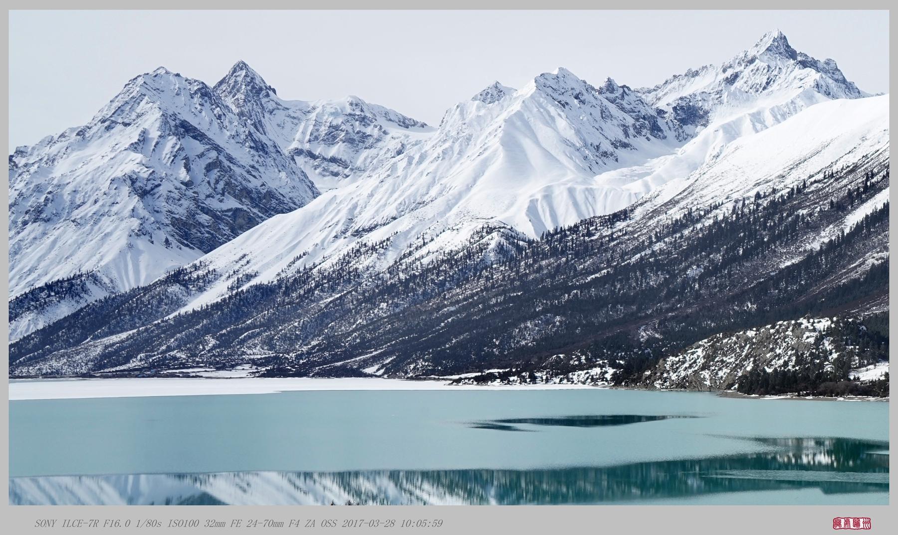 无处归州作品:冰雪悄释然乌湖