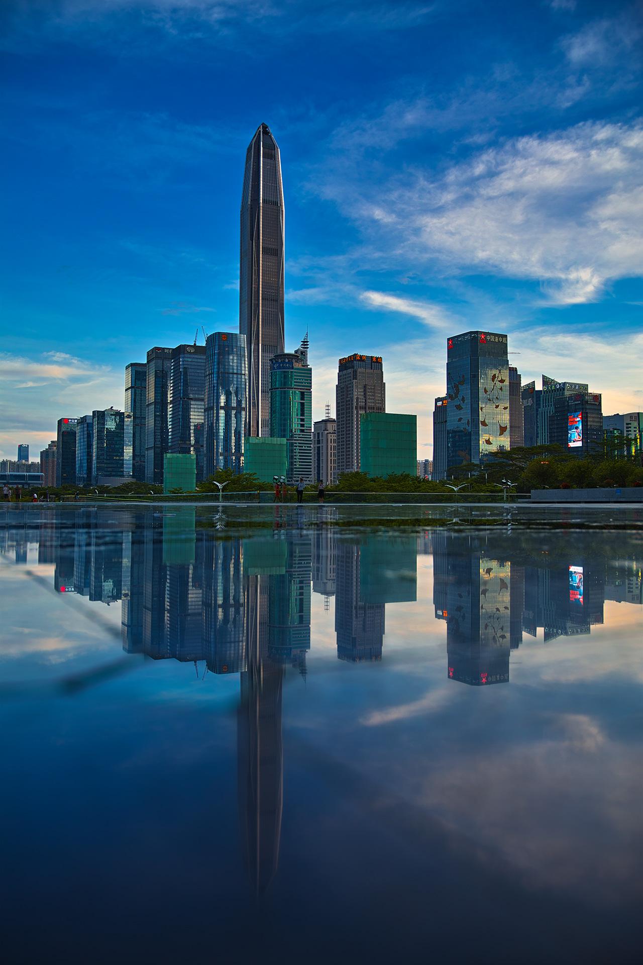 花工作品:深圳平安金融大厦