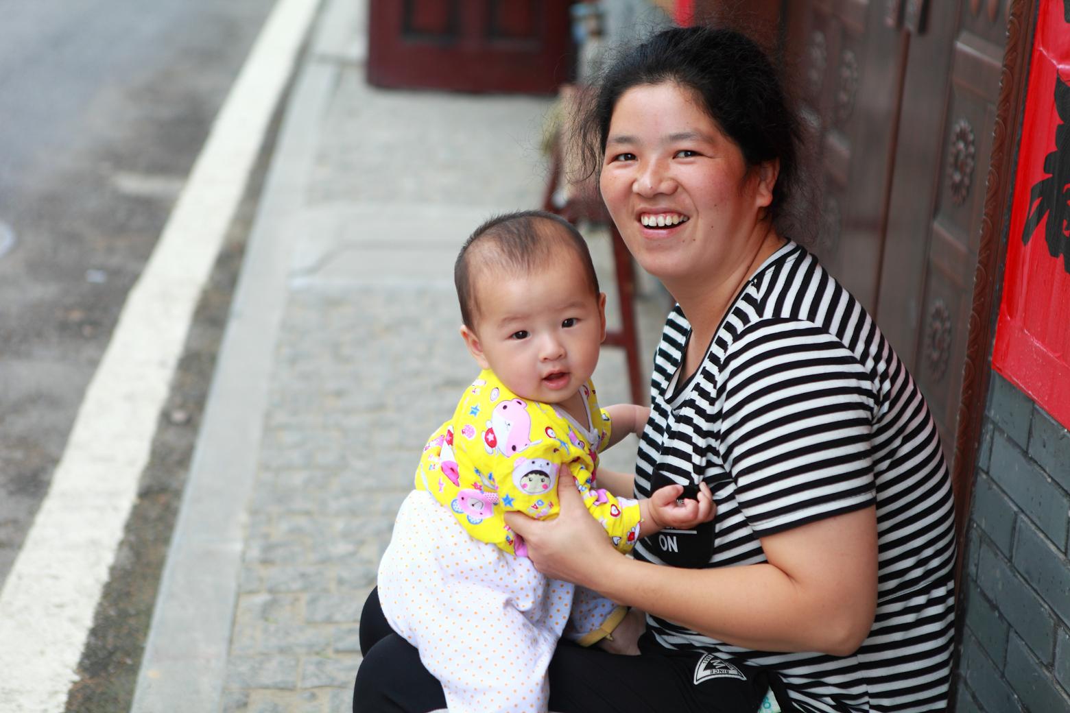 zhengxvsheng作品:母与子