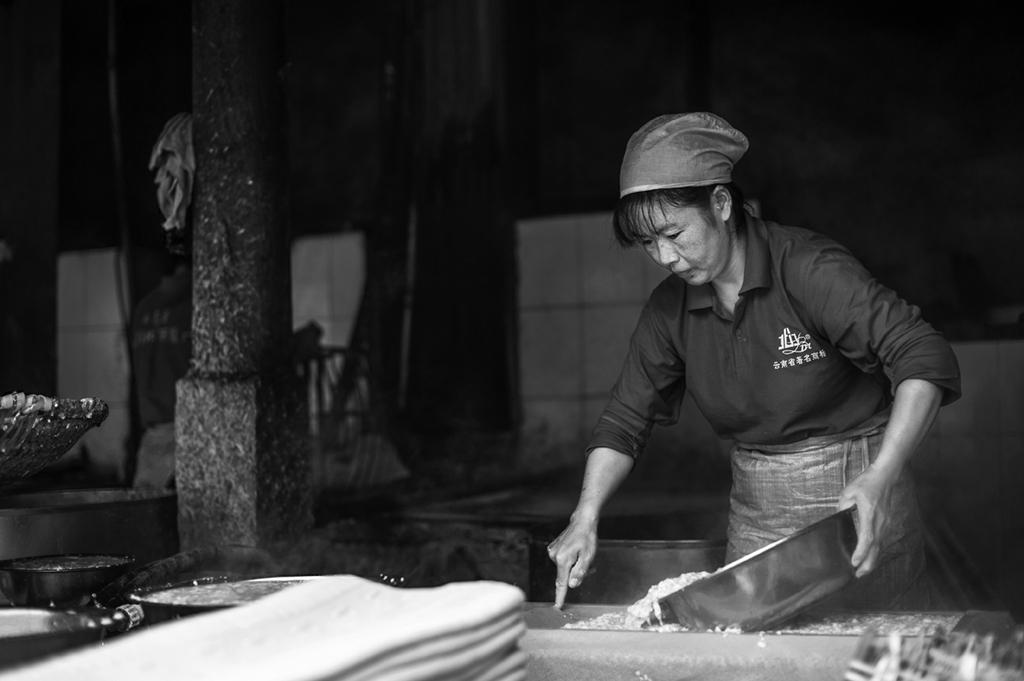 尧木作品:手工豆腐坊-2