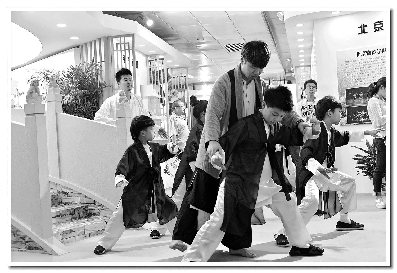 老张喜爱摄影作品:中华武术的传承