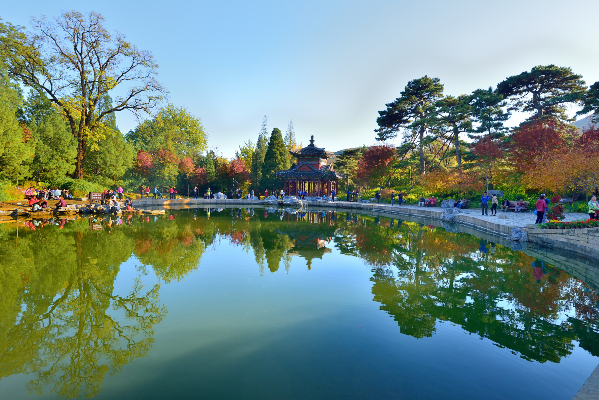 二郎山客作品:北京秋天
