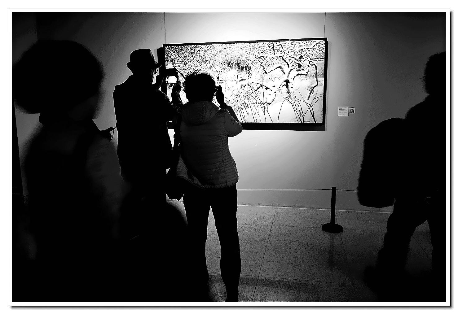 老张喜爱摄影作品:美术馆里的光与影