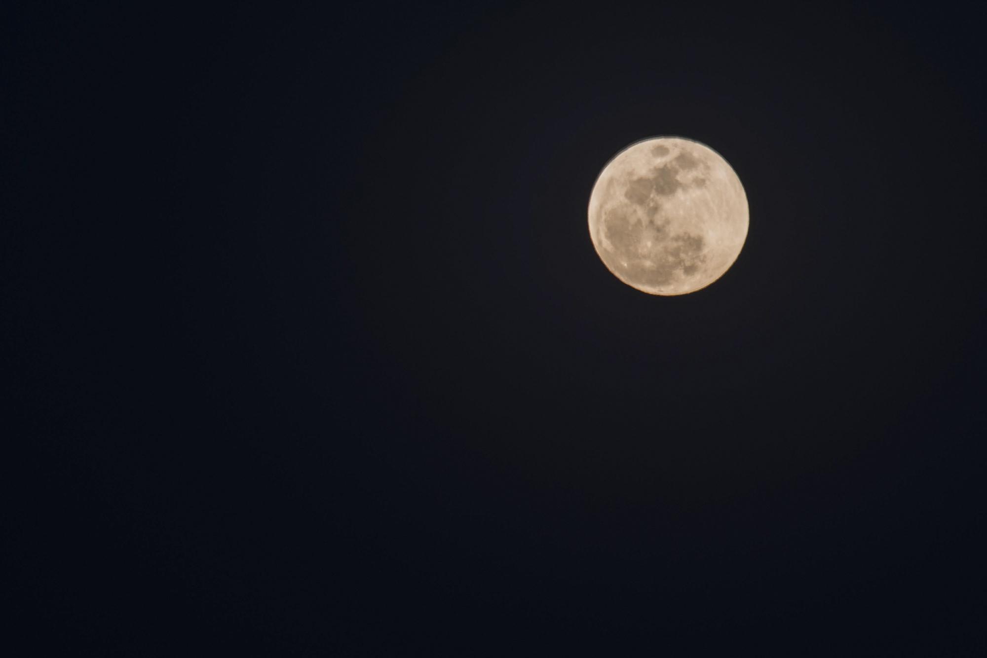 林泉一叟作品:今晚的月亮