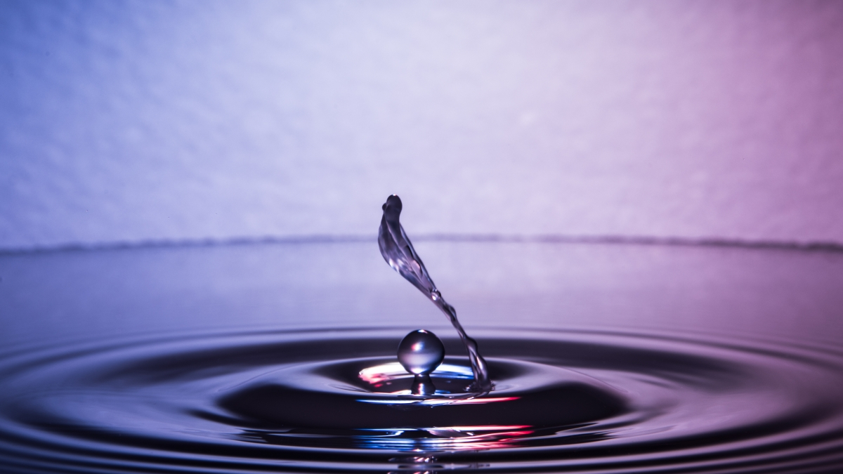 johnwq作品:千变万化的水滴水花